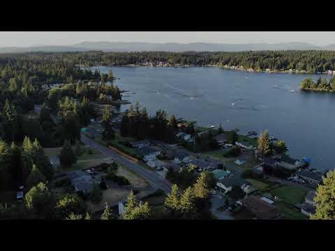 LAKE GOODWIN Wa 2020 Drone Footage