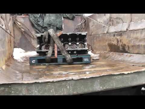 #1. Капитальный ремонт двигателя Caterpillar C15. Сборка.