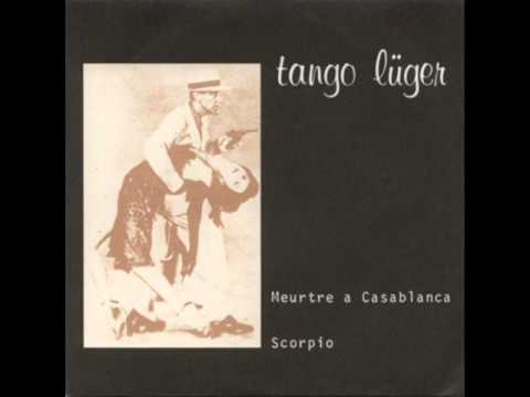TANGO LUGER (LUCAS TROUBLE) MEUTRE A CASABLANCA FRENCH POST PUNK / MINIMAL SYNTH. 1980 !!