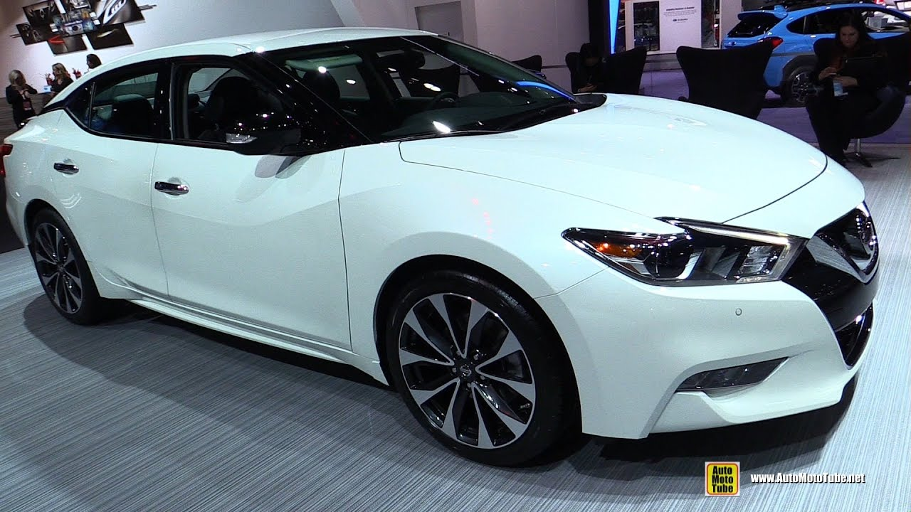 2017 Nissan Maxima Sr Exterior And Interior Walkaround Detroit Auto Show