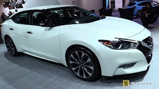 2017 Nissan Maxima SR - Exterior And Interior Walkaround - 2017 Detroit Auto Show