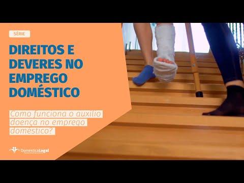 Como funciona o auxílio-doença no emprego doméstico?   WEB-SÉRIE  Direitos e deveres