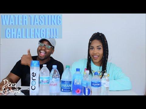 WATER TASTING CHALLENGE!!!| BOTTLED WATER TASTE TEST!