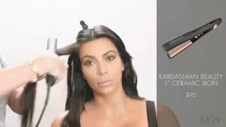 Kardashian Beauty Hair 1 Inch Flat Iron with Kim Kardashian