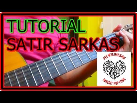 Tutorial Gitar Satir Sarkas - Pee Wee Gaskins