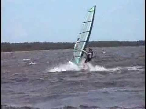lacanau lac windsurf funboard planche voile 21 05 2006 youtube