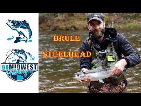 Steelhead Fishing On The Brule River