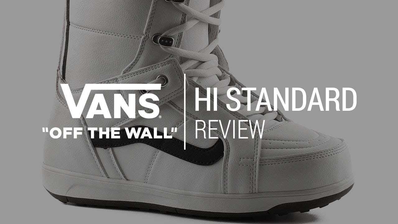 b17ba64e6c Vans Hi Standard 2018 Snowboard Boot Review - Tactics.com - YouTube