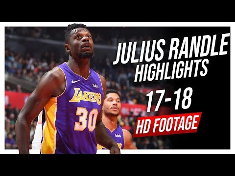 Lakers PF Julius Randle 2017-2018 Season Highlights ᴴᴰ