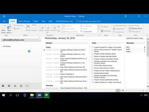 Convert Messages from EML to PST for Outlook