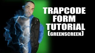 Trapcode Form on Greenscreen Tutorial (After Effects)