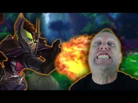 MAGE TANK - WoW Legion Val'sharah World PvP Gameplay