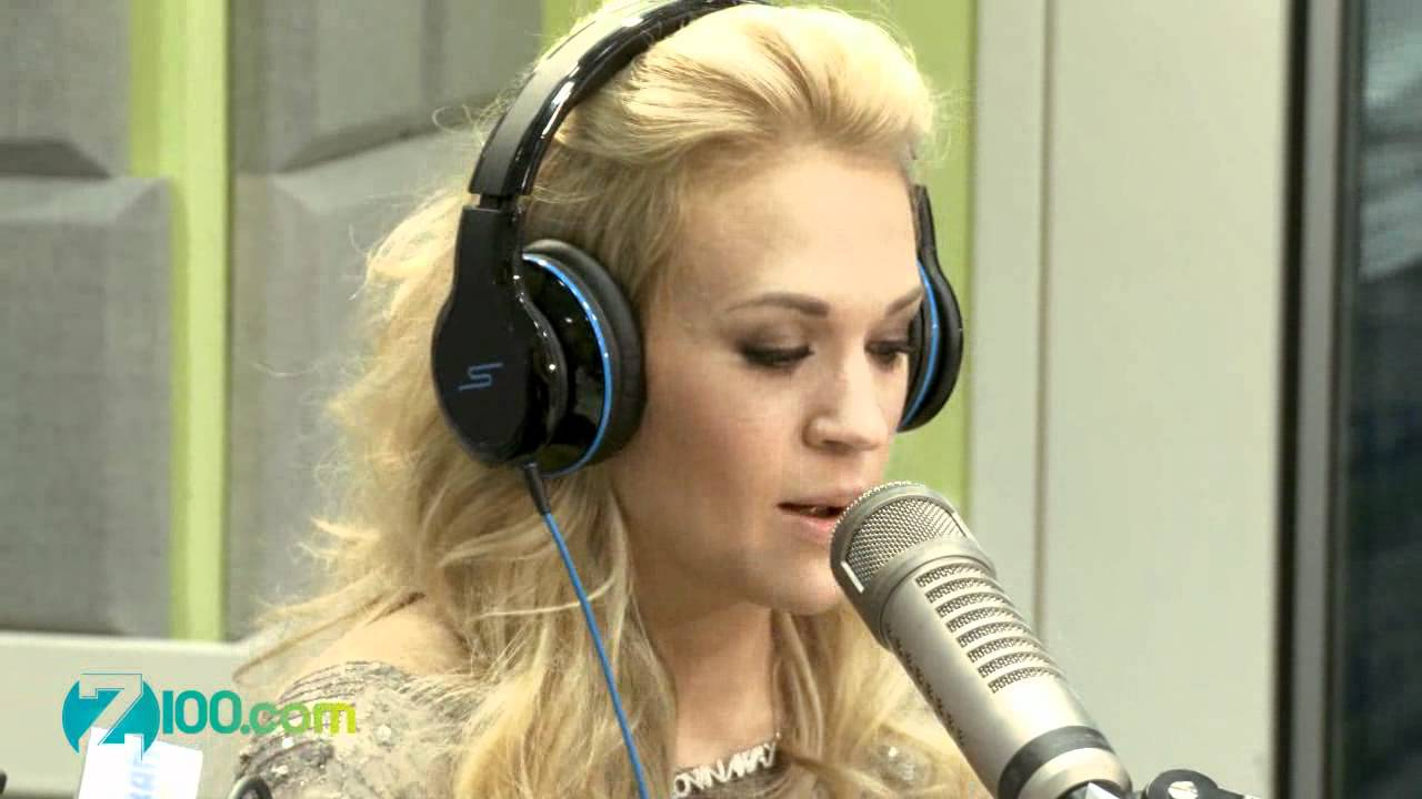 Carrie Underwood Interview @ Z100 30/04/2012 - YouTube