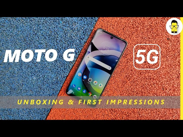 Moto G 5G Unboxing & First Impressions | Rs.19,999 | The new budget 5G smartphone