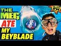 The Meg Ate My Beyblade!  Megalodon Funny Battle & Movie Spoof