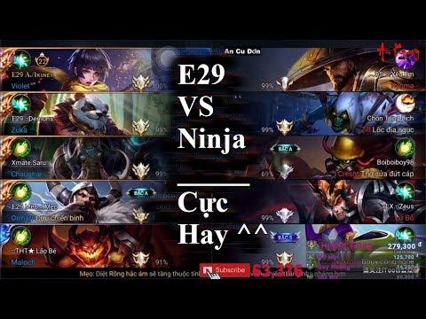 E29 Team Gần chuẩn An Kiney VS Team Ninja Xeko | Trận Đấu Cực Hot Đáng Xem Nhất Liên Quân Mobile
