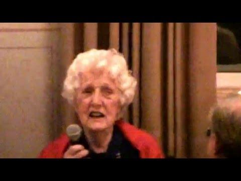 Professor  GRETA ERIKSONS 90års fest.