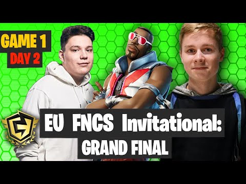 Fortnite FNCS Invitanional Grand Final EUROPE DAY 2 GAME 1 Highlights - Aqua Or Mitro