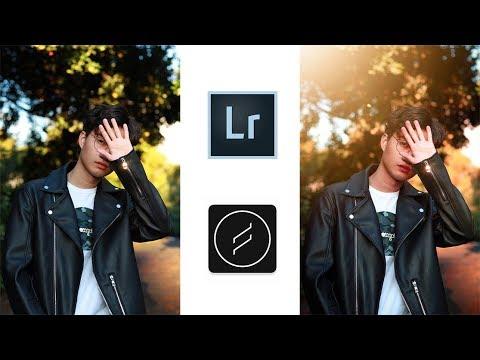 Chỉnh Ảnh Mùa Thu Bằng Lightroom Mobile + Lens Distortions | Thay Đổi Màu Sắc
