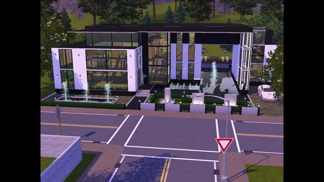 sims 3 haus bauen let 39 s build traumhaus f r single frau youtube. Black Bedroom Furniture Sets. Home Design Ideas