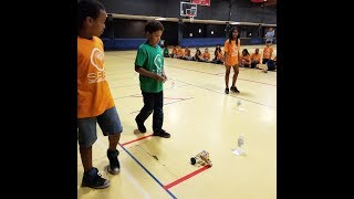 Young Sacramento students demonstrate STEM projects at SEEK Program