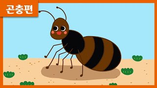 [1분 그림 곤충편] 개미 그리기 ?   유아미술   …