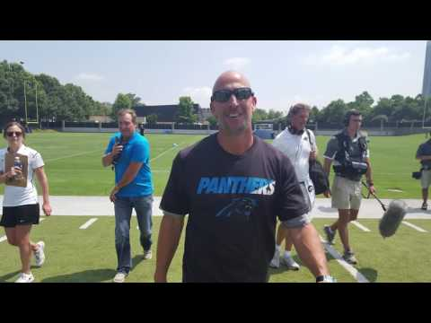 Carolina Panthers WR Coach Proehl on Wide Receiver Battle of Minicamp