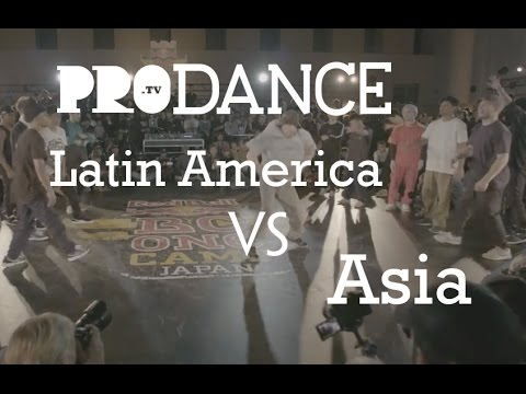 Latin America vs Asia | Red Bull BC One Continent Battle 2016