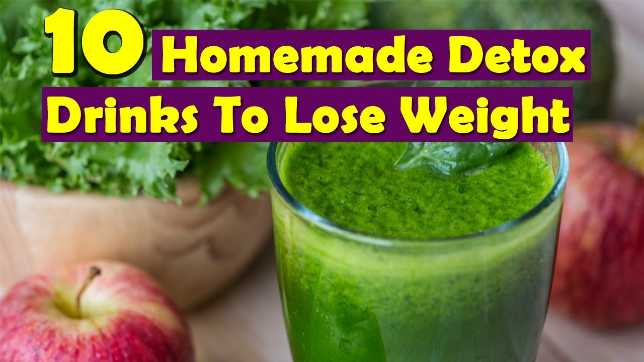 10 Easy Homemade Detox Drinks To Lose