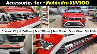 Accessories for Mahindra XUV300 | Order online from Mahindra's Official Website | www.m2all.com