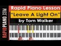 How To Play Leave A Light On By Tom Walker Piano Tutorial Lesson Part 1 mp3