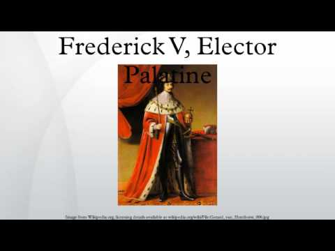 Frederick V, Elector Palatine