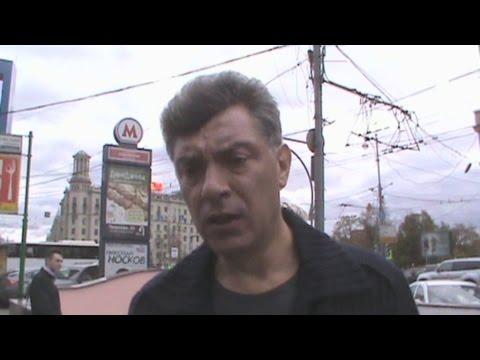 Nemtsov on the assassination of Politkovskaya