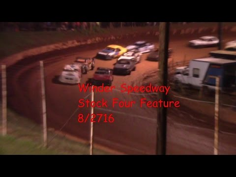 Winder Barrow Speedway Stock Four Cylinders 8/27/16