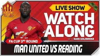 Manchester United Vs Reading L VE Watchalong