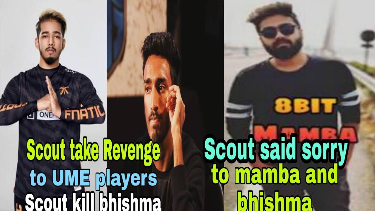 Scout Kill Ume Players Took His Revenge Said Sorry To Mamba