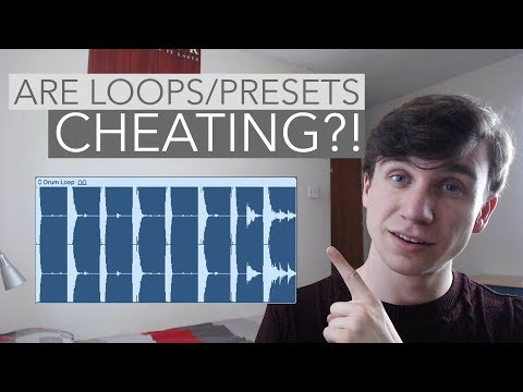 Are loops and presets 'cheating' in music production?