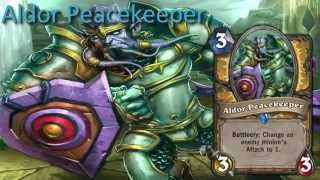 Aldor Peacekeeper card sounds in 12 languages -Hearthstone✔