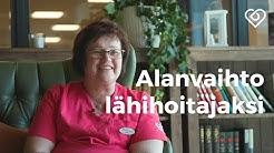 Alanvaihto lähihoitajaksi - Anne toteutti unelmansa hoitotyöstä Mehiläisellä⎪Duunitori