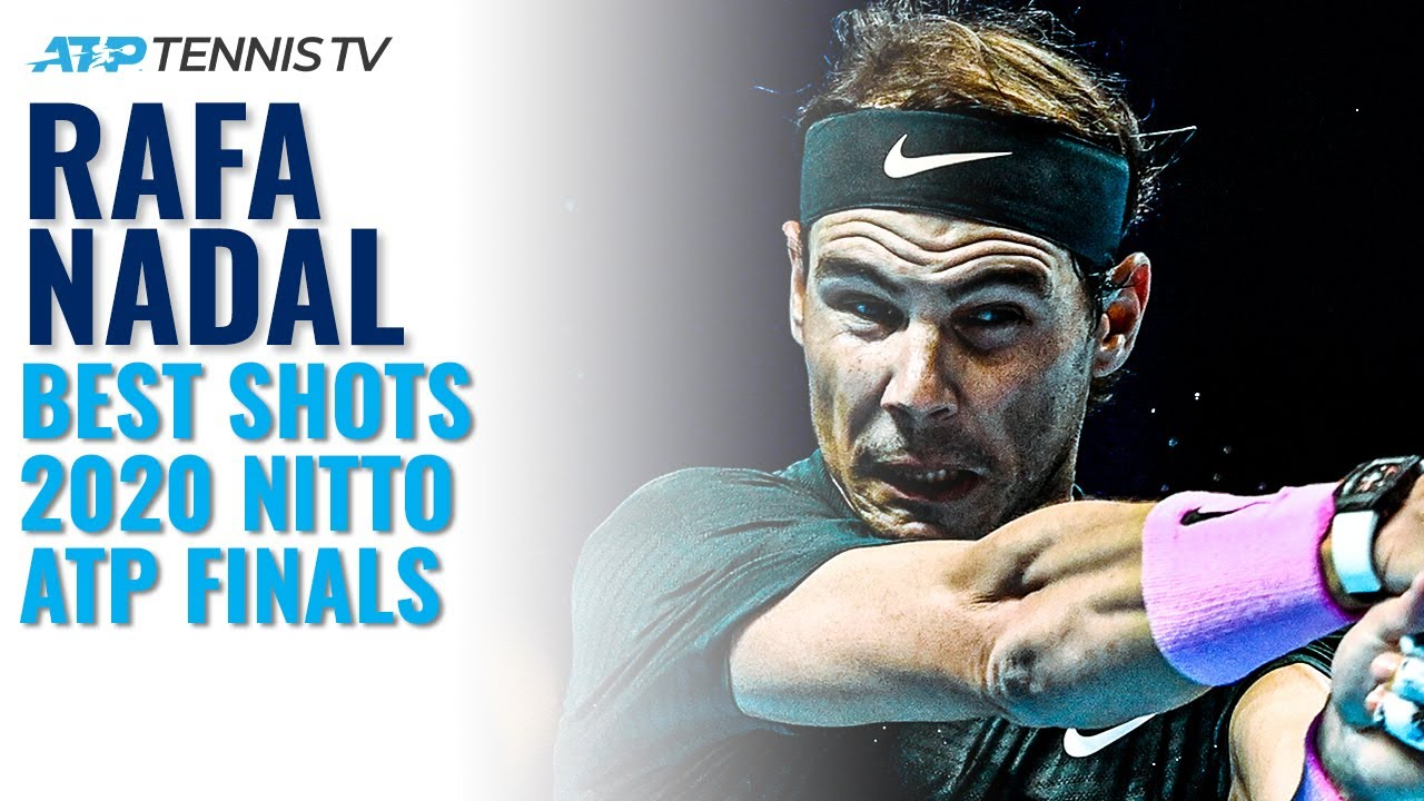 Rafa Nadal 2020 Nitto ATP Finals Highlights