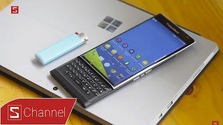 Schannel - Mở hộp Blackberry Priv bản thương mại: Đẹp không thể tin nhưng có thật