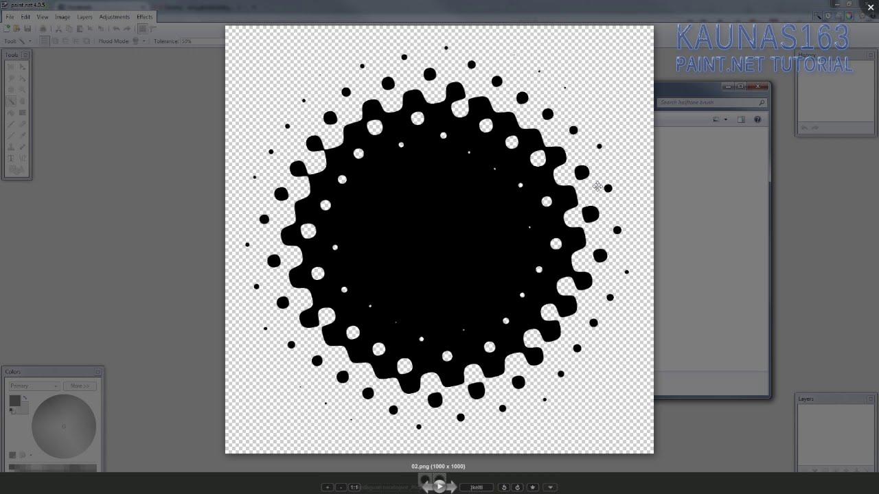 Halftone Paint Net