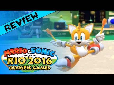 Mario & Sonic at the Rio 2016 Olympic Games Review (Wii U)