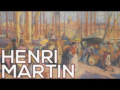 Henri Martin: A collection of 590 paintings (HD)