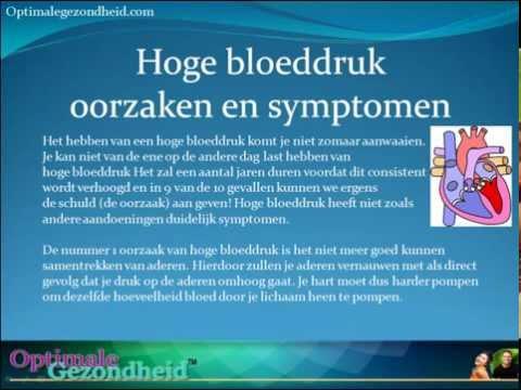 Hoge Bloeddruk Oorzaken En Symptomen Youtube
