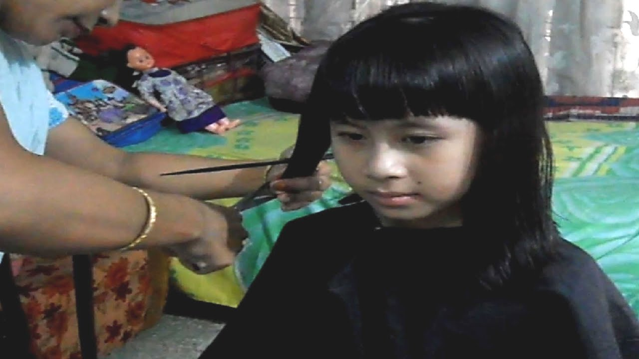 Baby Barbie Haircut Youtube