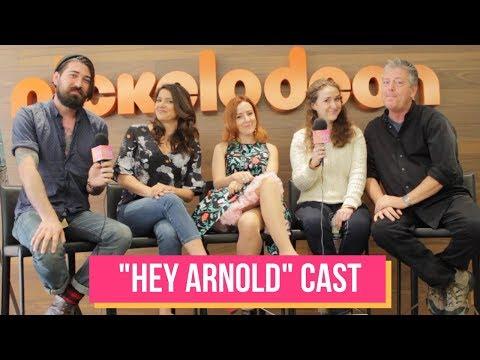 Cast & Creator of HEY ARNOLD Talk Nickelodeon Movie Reboot | Celeb Secrets