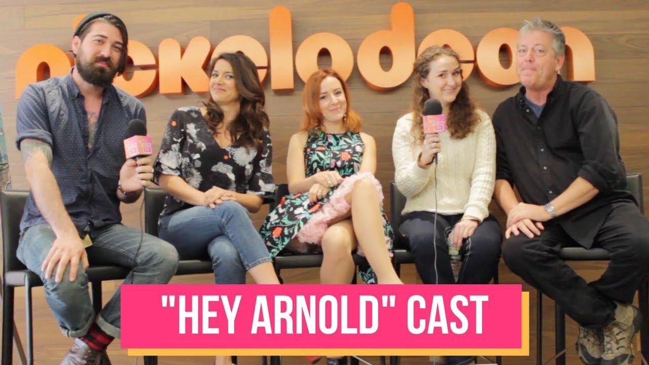 Cast & Creator of HEY ARNOLD Talk Nickelodeon Movie Reboot ...