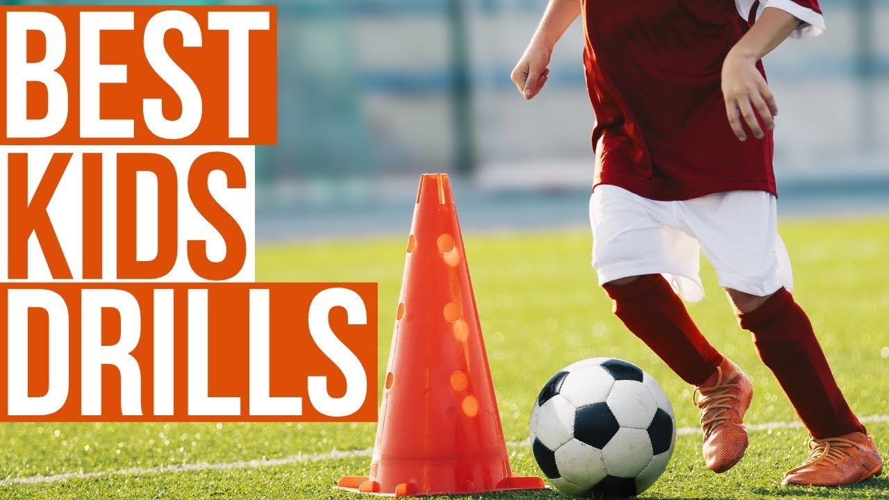 Football Drills For Kids Essential Soccer Drills For Kids Youtube