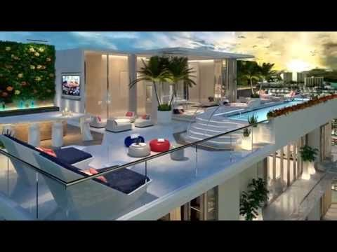Parque Platinum Penthouses & Tower Suites For Sale in Miami